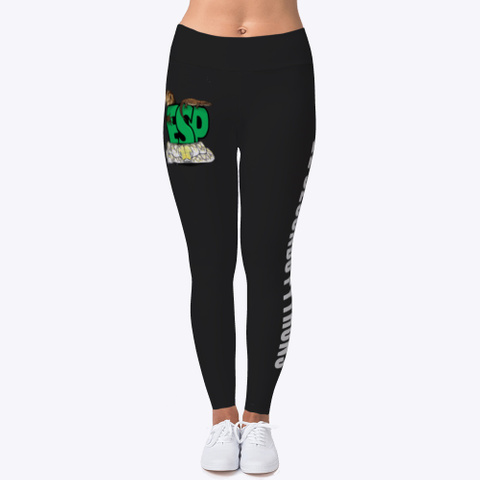 Esp Leggings Black T-Shirt Front