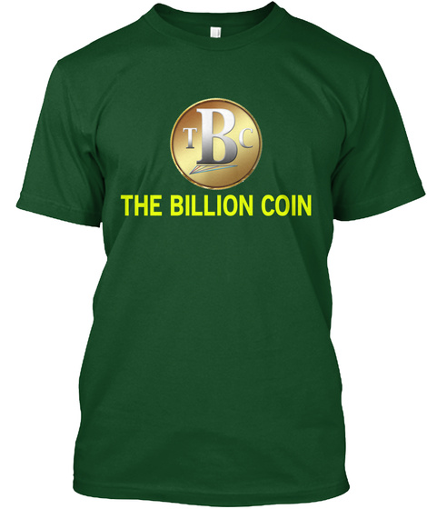 The Billion Coin Deep Forest T-Shirt Front