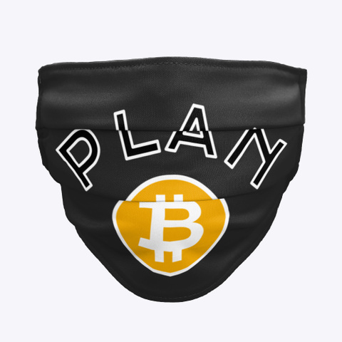 Bitcoin: Plan B Black T-Shirt Front