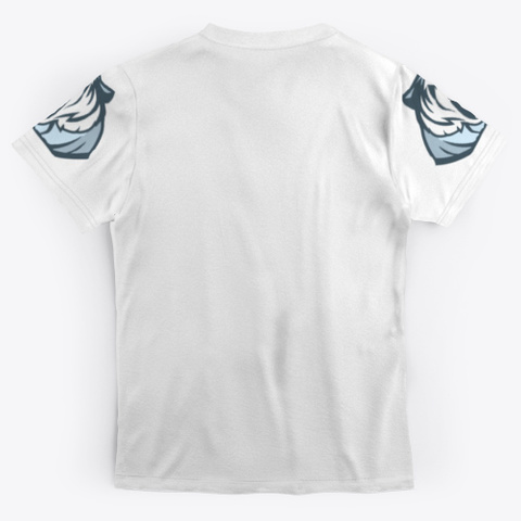 Muay Thai Tiger Mma Tee Shirt Standard T-Shirt Back