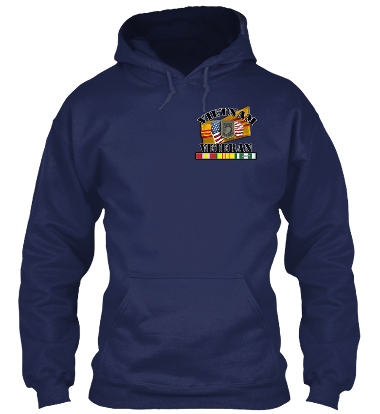 Vietnam-Veteran-Brotherhood-Collection-Gildan-Hoodie-Sweatshirt thumbnail 8