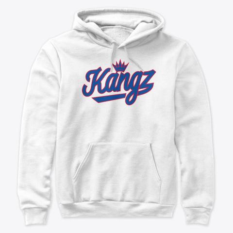 Kangz Shirt (Retro White) White T-Shirt Front