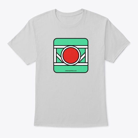 Bramley T Shirt By Colour Points Light Steel T-Shirt Front