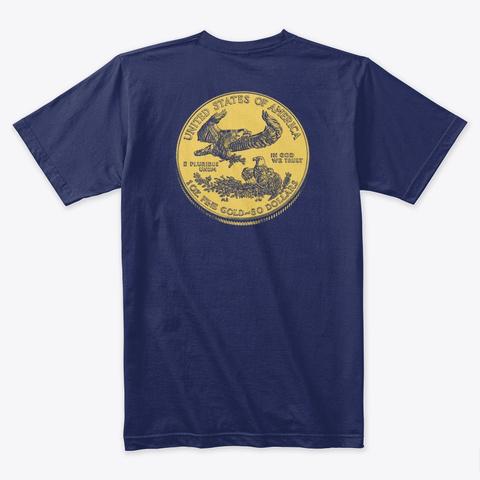 Us Au Double Eagle Midnight Navy T-Shirt Back