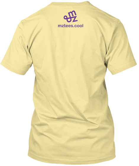 Bowling Guys Banana Cream T-Shirt Back
