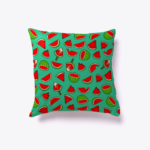 Watermelon Pattern Pillow Standard T-Shirt Front