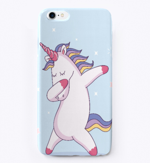 reputable site 324fb 6138e Dabbing Unicorn Phone Case