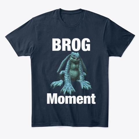 Brog Moment New Navy T-Shirt Front