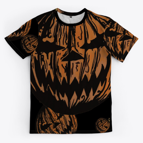 Wicked Jack O Lanterns | Halloween Party Black T-Shirt Front