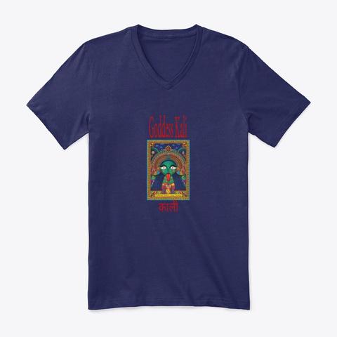Goddess Kali Collection Navy T-Shirt Front