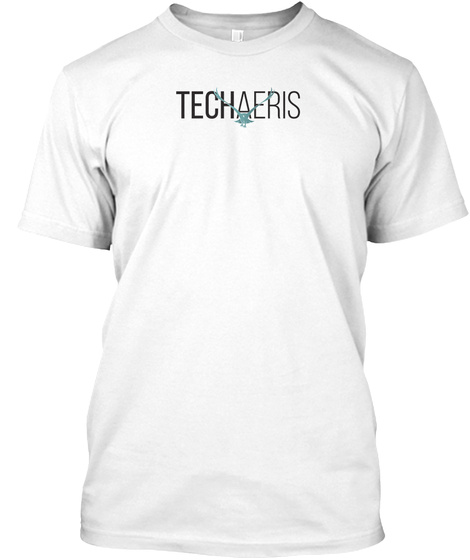 Techaeris White T-Shirt Front