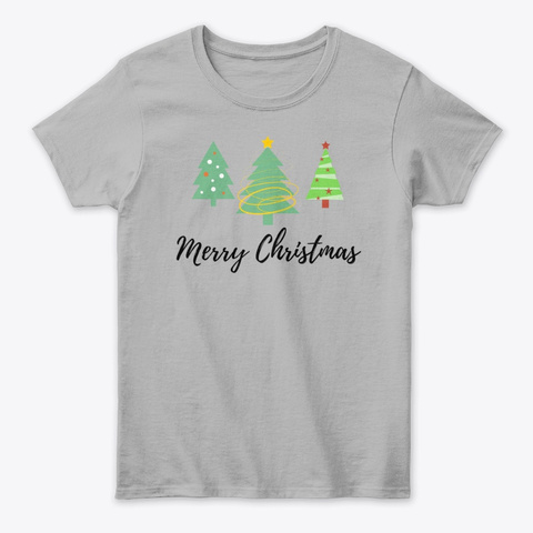 Great Merry Christmas Apparel Sport Grey T-Shirt Front