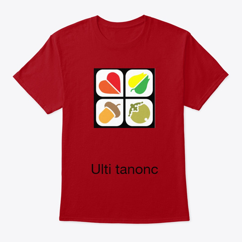 Ulti Tanonc Deep Red T-Shirt Front