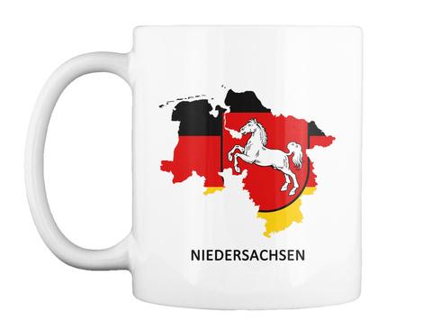 Collectible Series   Niedersachsen White T-Shirt Front