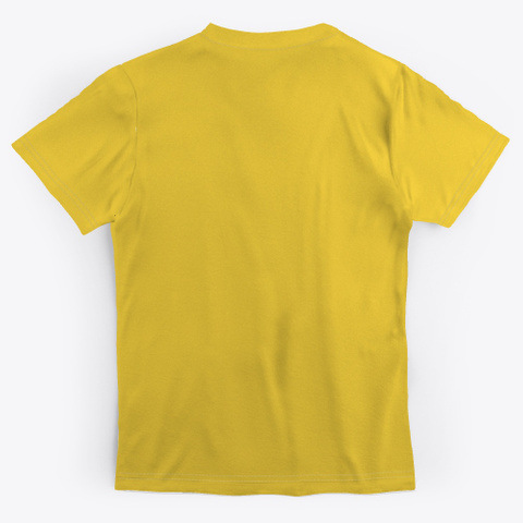 Mrs Diazz Yellow T-Shirt Back