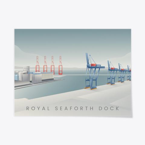 Royal Seaforth Dock Standard T-Shirt Front