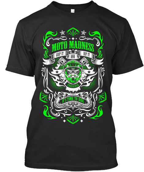 Moto Madness T's - GREEN Shirt
