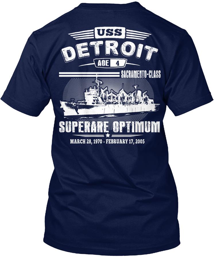 [Ltd. EDITION] USS DETROIT TSHIRT Unisex Tshirt