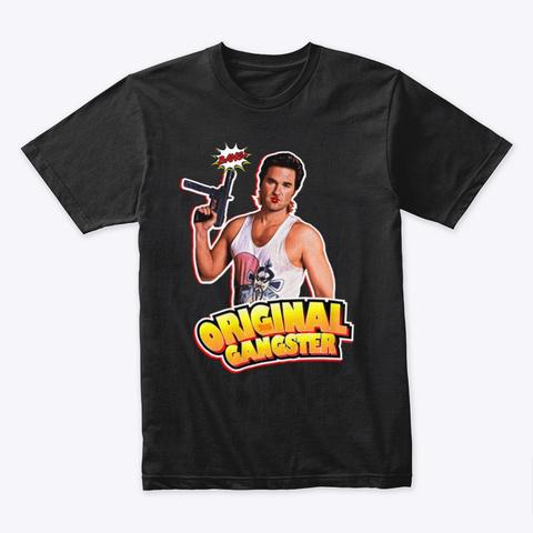 Og Jack Burton Black T-Shirt Front