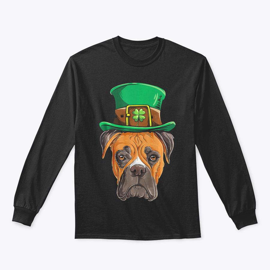 Boxer St Patricks Day T Shirt Boys Kids - Good Cheap St Partricks Day Polo Tees Design