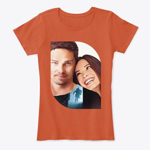 Vin Cat N°2  : Us Against The World  Deep Orange T-Shirt Front