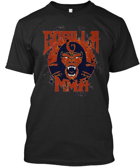 Gogilla Mma Black T-Shirt Front