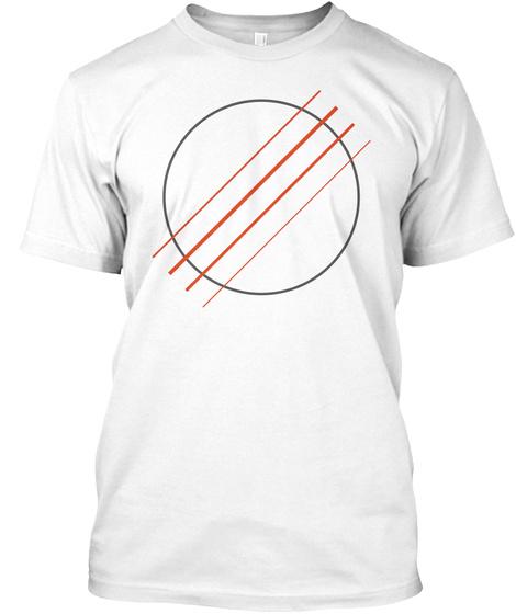 Ukulele Go Sound Hole Tee / Eu White T-Shirt Front