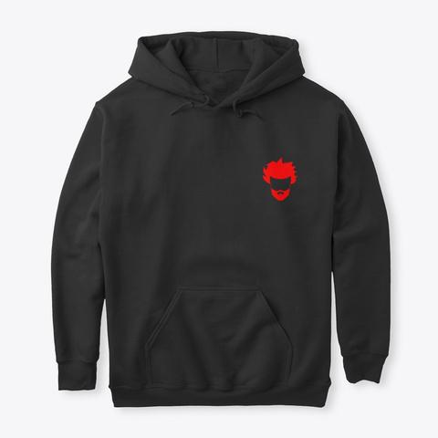 #Arrivarudeejay Hoodie Black T-Shirt Front