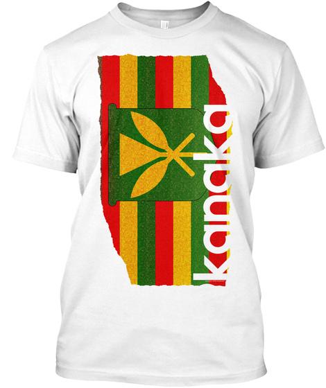 Kanaka Tee White T-Shirt Front
