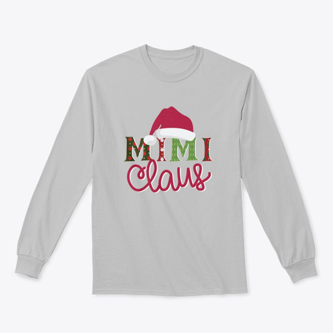 Mimi Claus   Limited Time Only Sport Grey T-Shirt Front