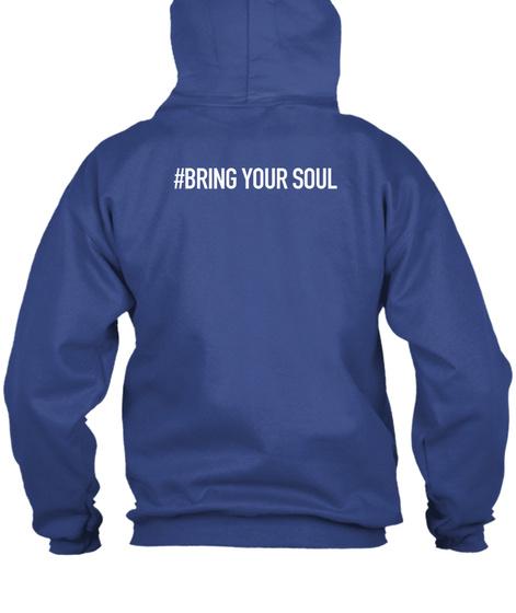 Memphis Hoodie Royal Sweatshirt Back