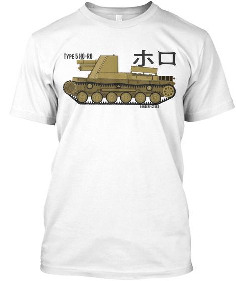 Type 5 Ho Ro White T-Shirt Front