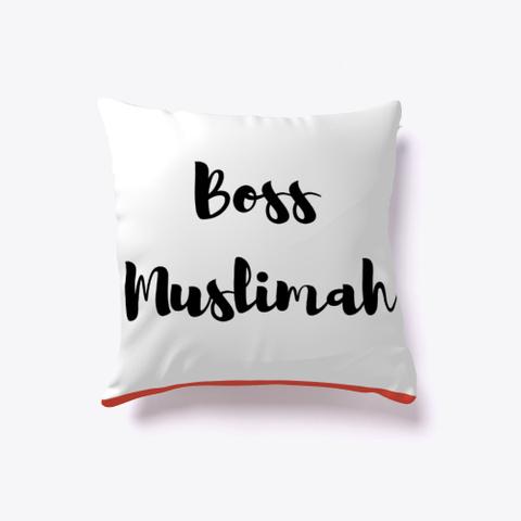 Boss Muslimah Pillow Red T-Shirt Front