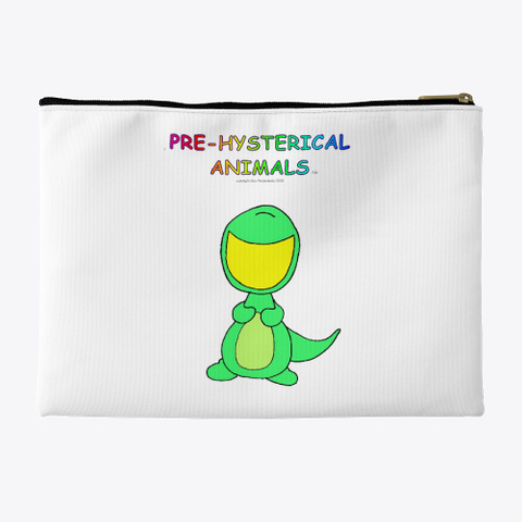 Pre Hysterical Animal Carrycase Standard T-Shirt Back