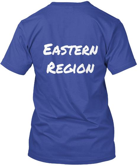 Eastern Region Deep Royal T-Shirt Back