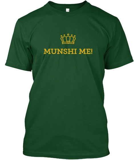 Munshi Me! Deep Forest T-Shirt Front