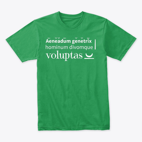 Aeneadum Genetrix Kelly Green T-Shirt Front