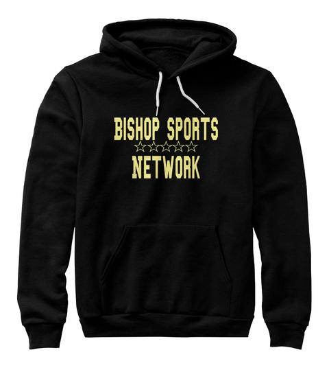 Bishop Sports Network Black Sweatshirt Front