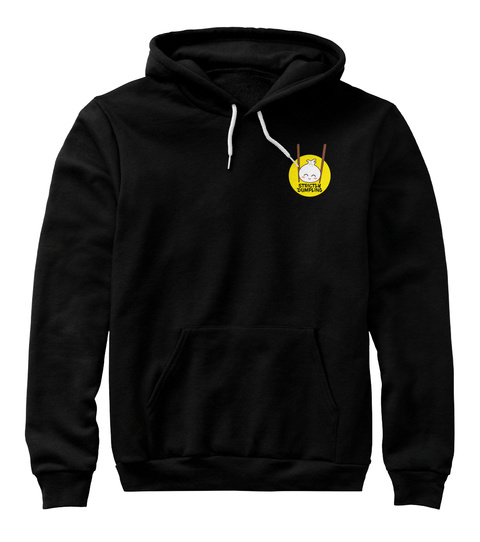 Strictly Dumpling Logo Sweaters (Dark) Black T-Shirt Front