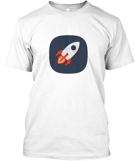 Razex.De Rakete Ohne Banner Weiß White T-Shirt Front