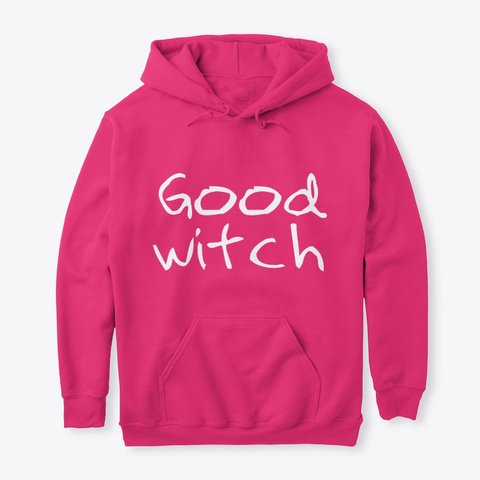 Good Witch Trick Or Treat Halloween  Heliconia Camiseta Front