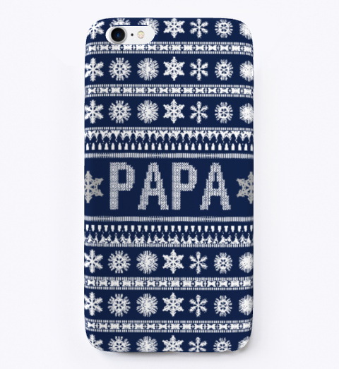 christmas phone case papa