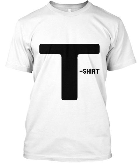 T Shirt White T-Shirt Front