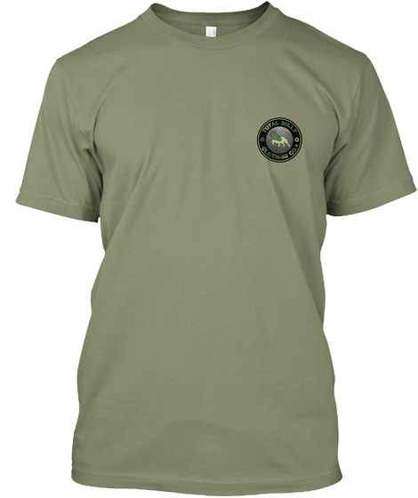 Total Bully   Us Veterans Appreciation  Light Olive T-Shirt Front
