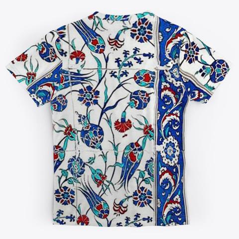 Turkish Tile Art Standard T-Shirt Back