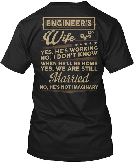 ENGINEERS WIFE LIMITED EDITION Unisex Tshirt
