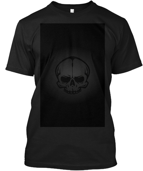 I Will Show You All Of My Specials Art  Black T-Shirt Front