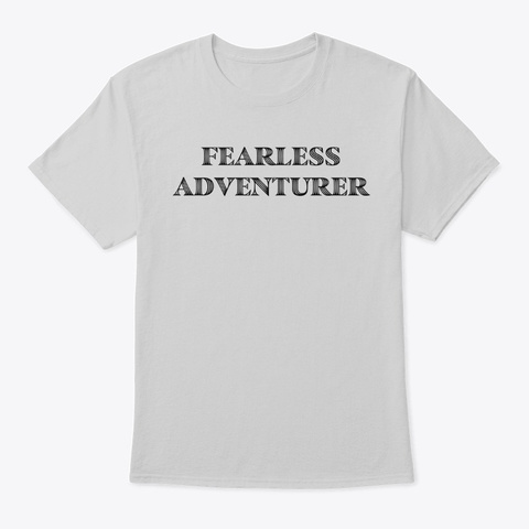 The Fearless Tee Light Steel T-Shirt Front