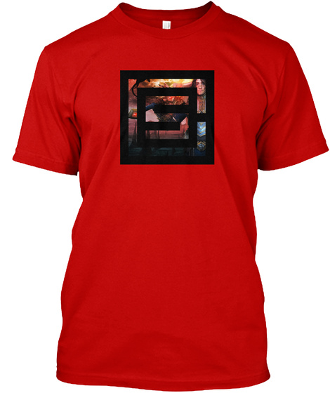 Shepherd Of Men Creations Logo Red Classic Red T-Shirt Front
