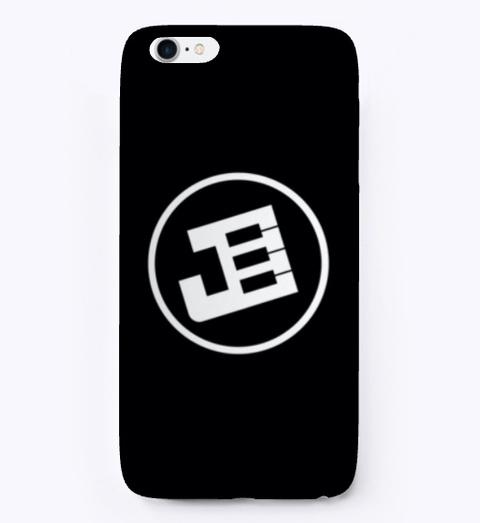 Jay.Keyz Logo I Phone Case Black T-Shirt Front